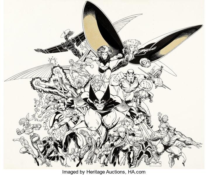 Original Comic Art Auction Report, Heritage Signature – Feb.19