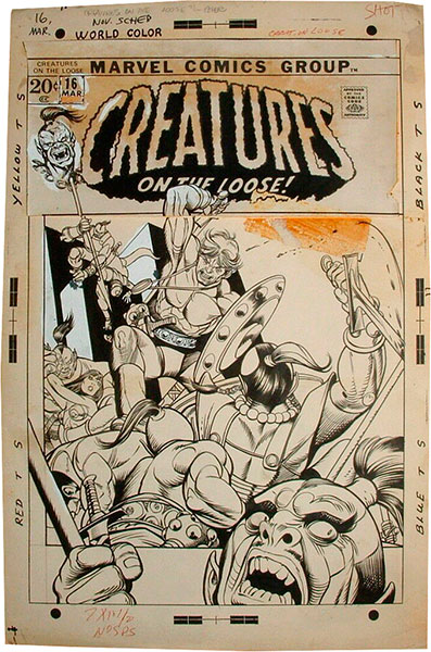 gil-kane-original-comic-art