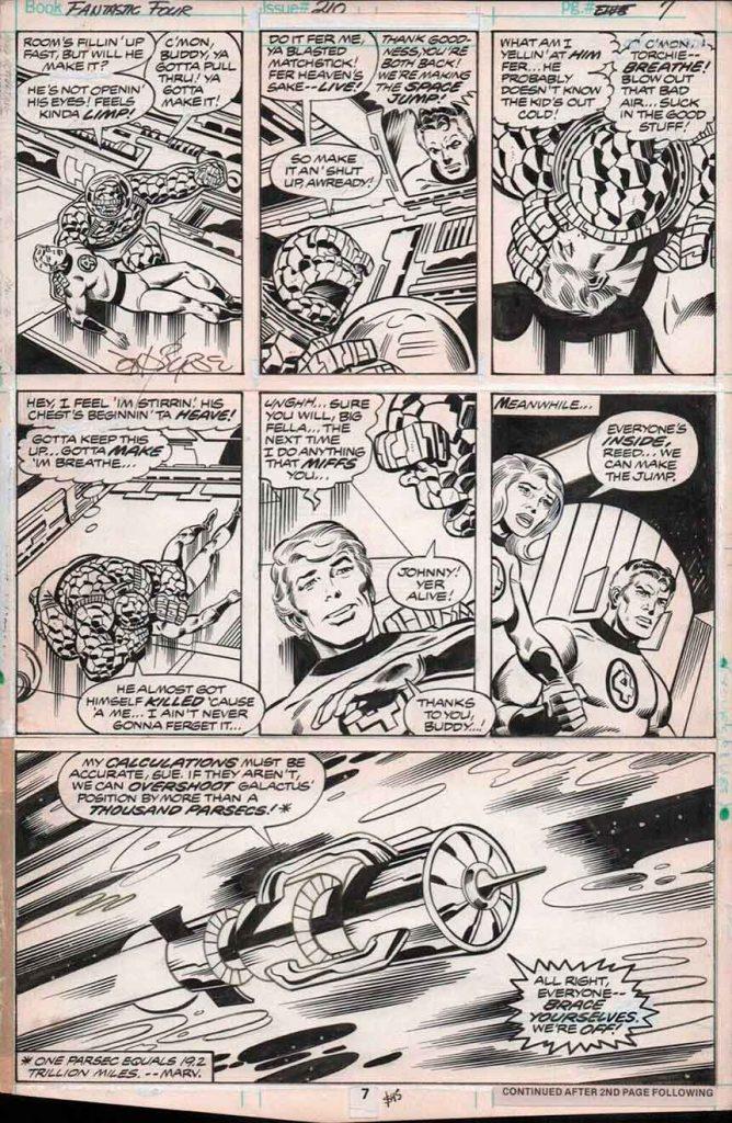 Original Comic Art – Top 10 Lots Sold on eBay in May 2019