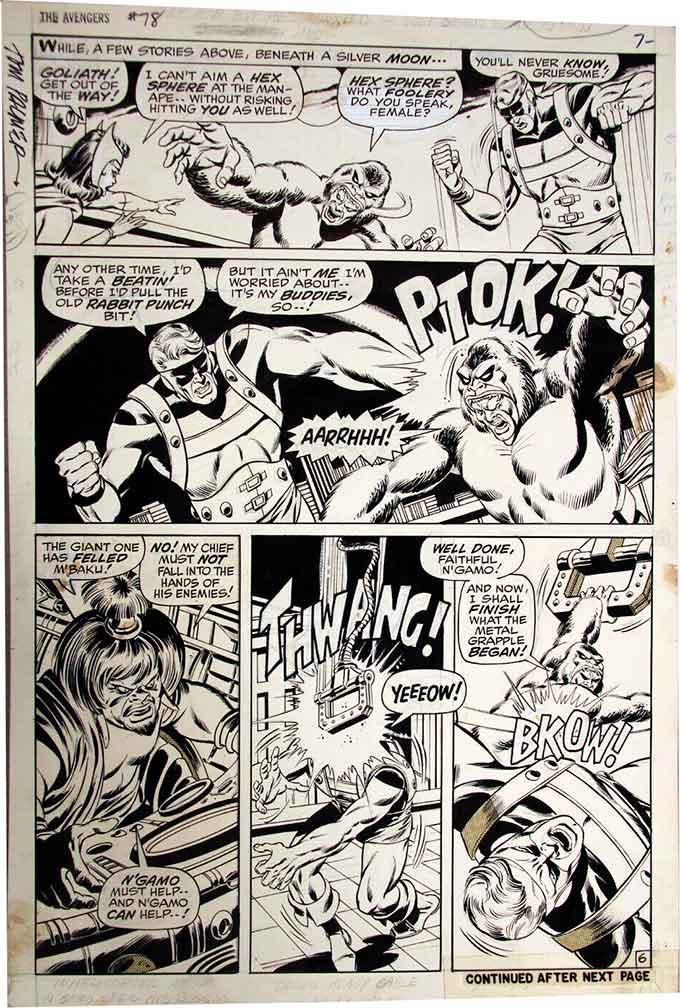 Sal-Buscema-original-comic-art