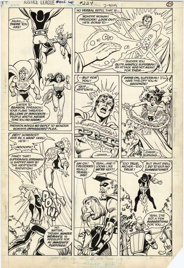 justice-league-original-comic-art