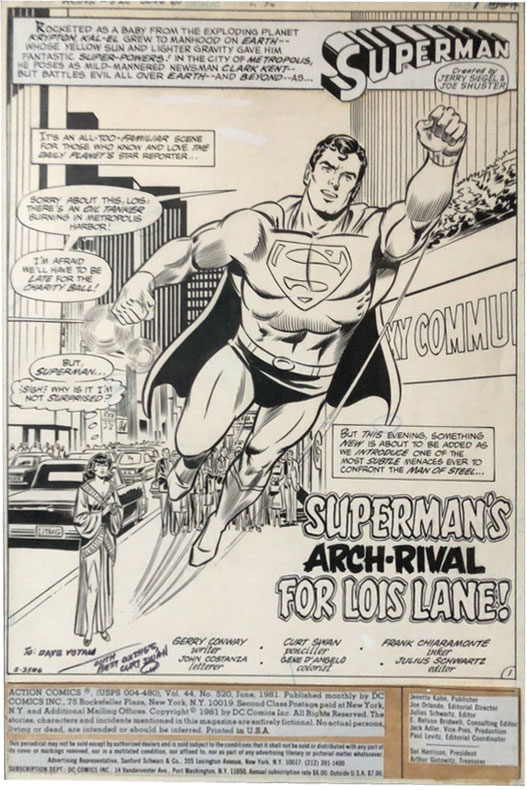 curt-swan-original-comic-art