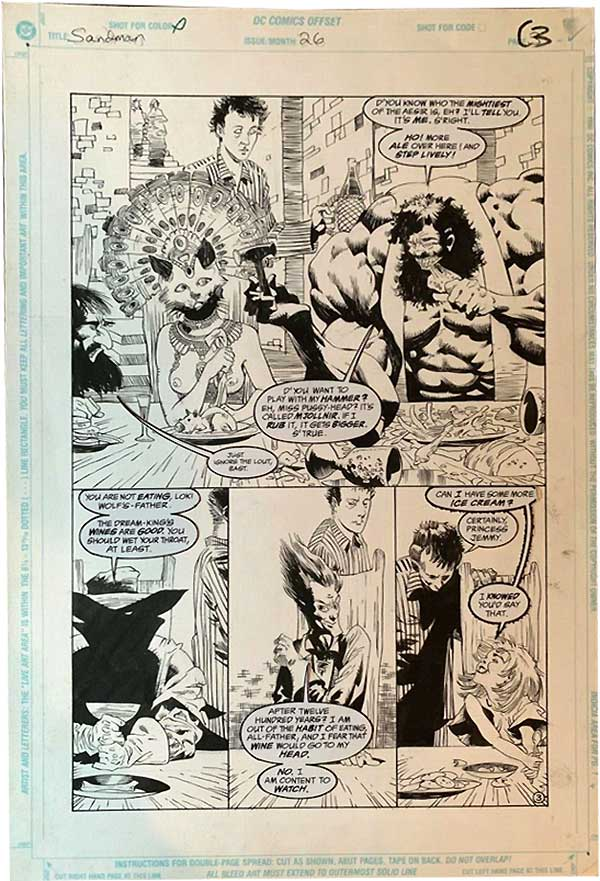 kelley-jones-original-comic-art
