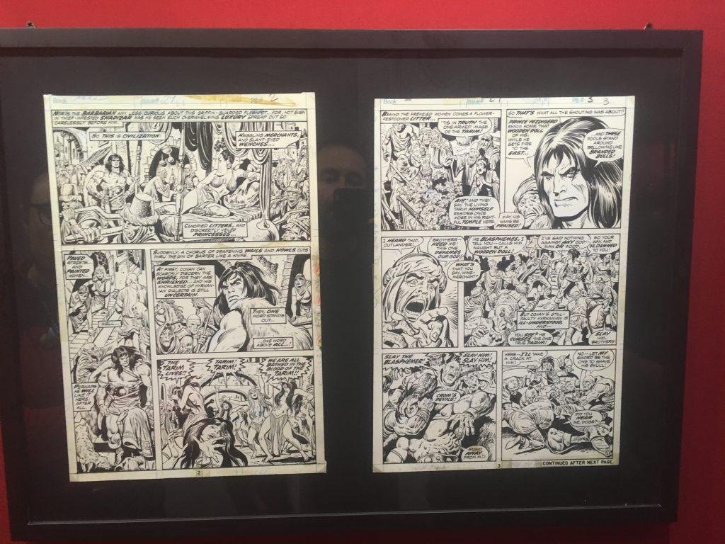john-buscema-Conan-original-art