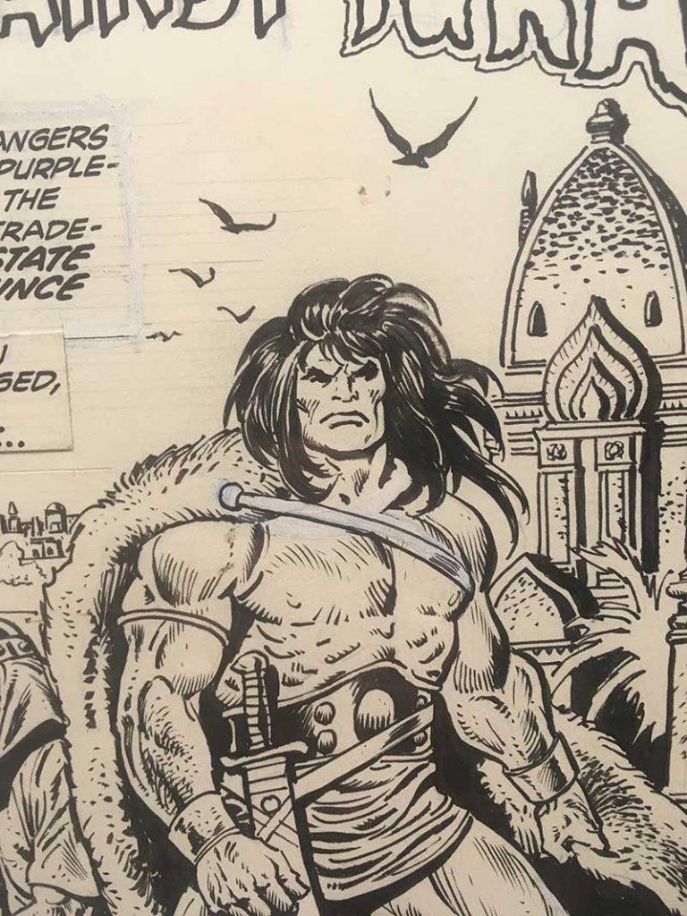 John Buscema Original Comic Art Exhibition in Lucca 2019