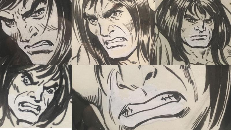 john-buscema-original-comic-art