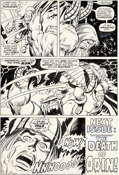thor-original-comic-art