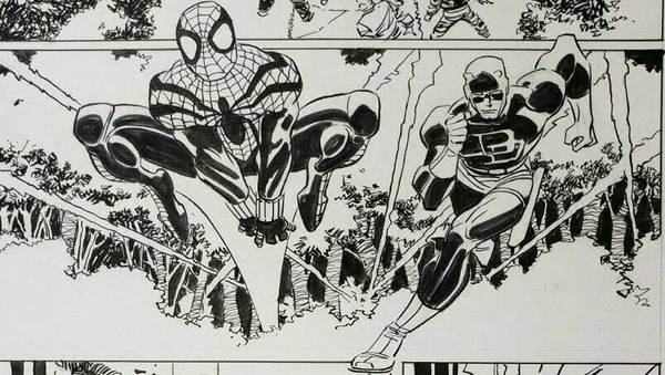 john-romita-jr-spider-man-original-art