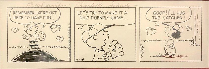 peanuts-original-comic-art