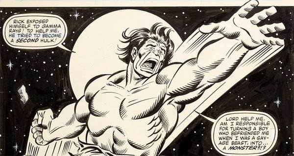 sal-buscema-original-art