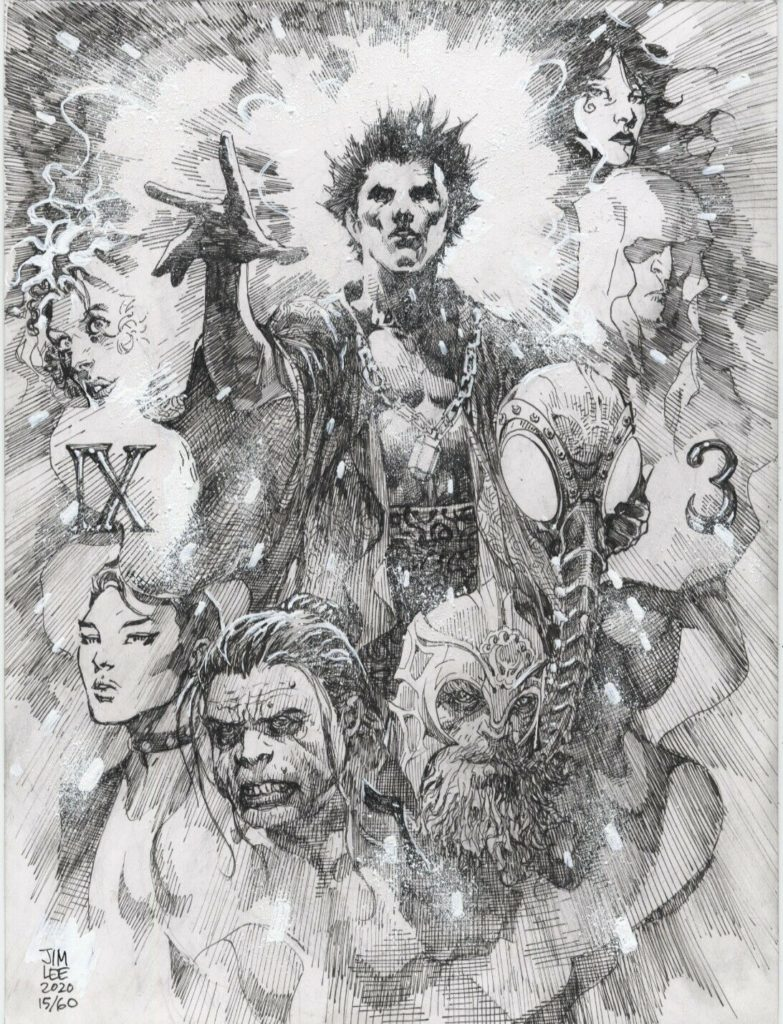 jim-lee-sandman-original-comic-art