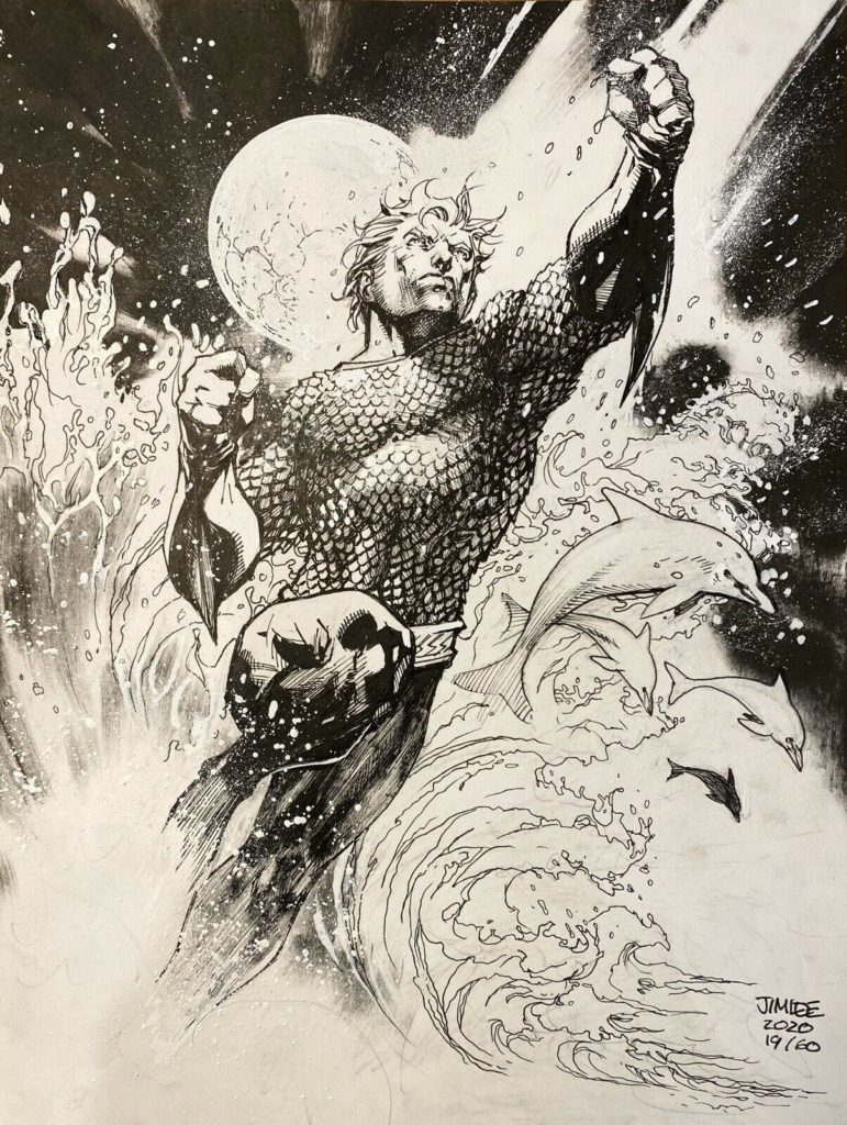 jim-lee-aquaman-original-comic-art