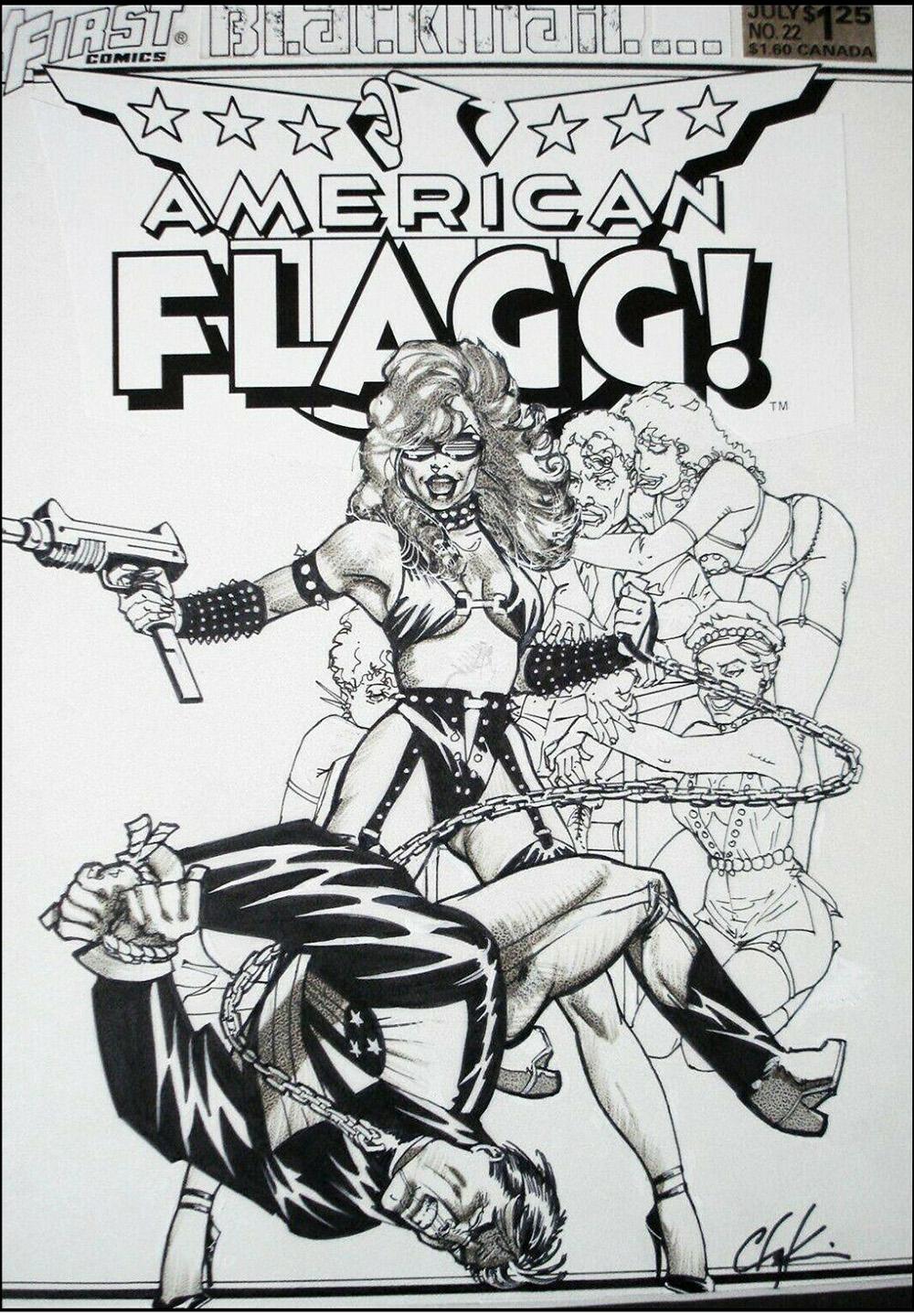 howard-chaykin-original-comic-art