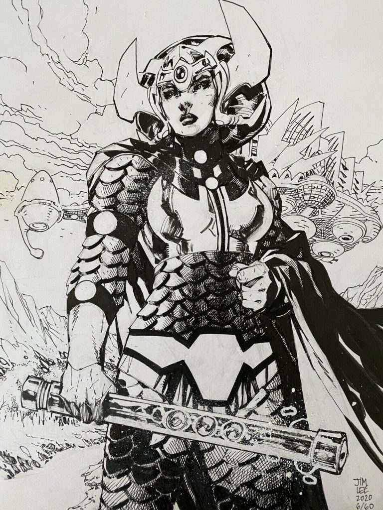 jim-lee-big-barda-original-comic-art