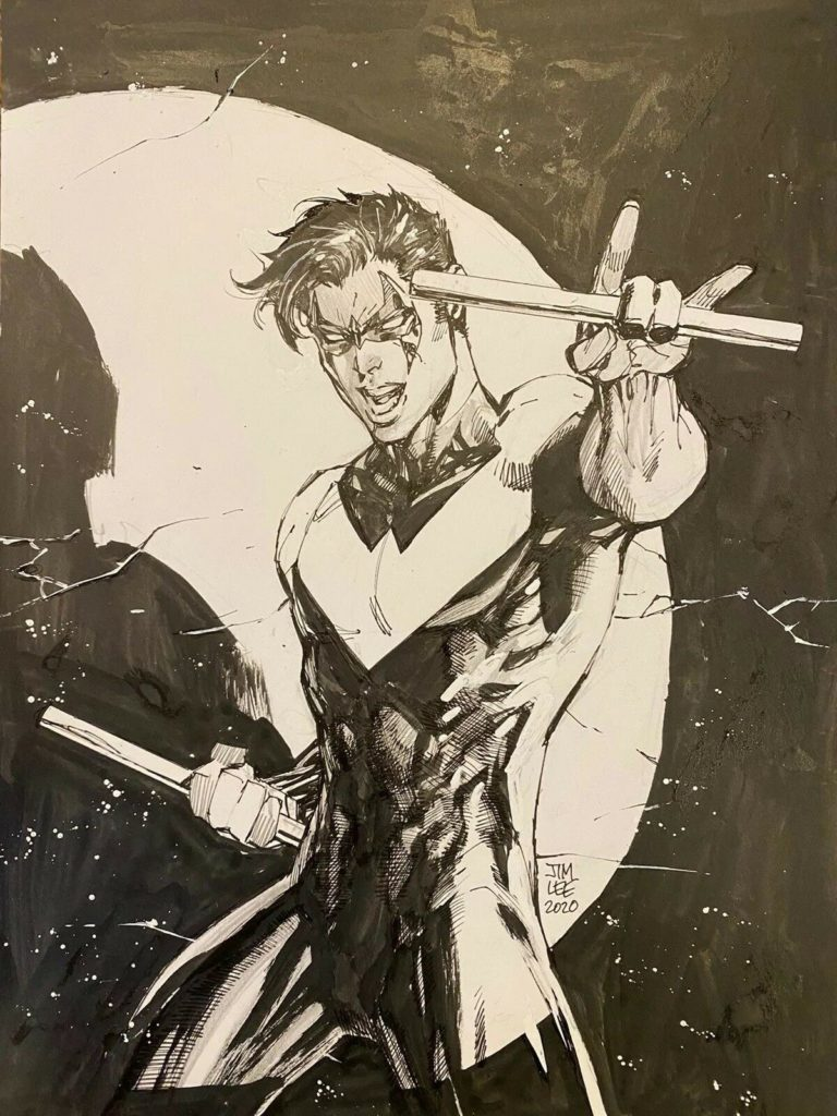 jim-lee-nightwing-original-art