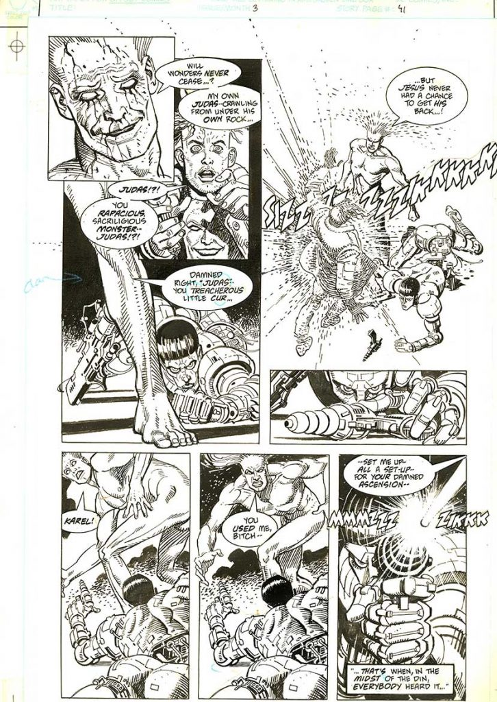 garcia-lopez-original-comic-art