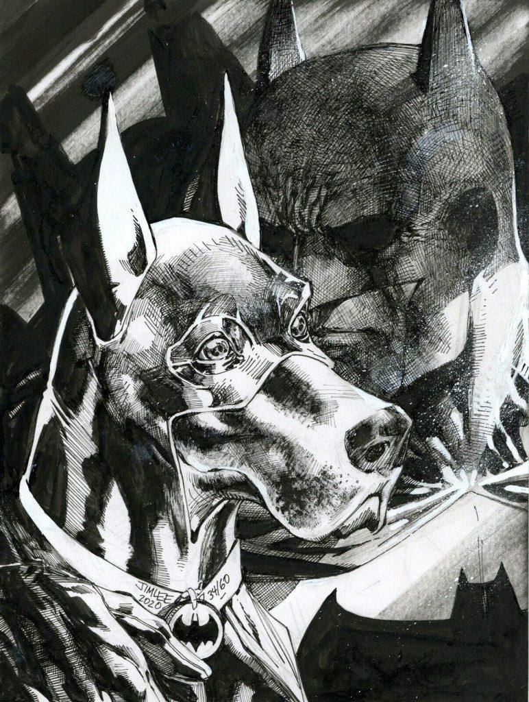 Jim Lee DC Original Comic Art for Charity – auctions 31-40