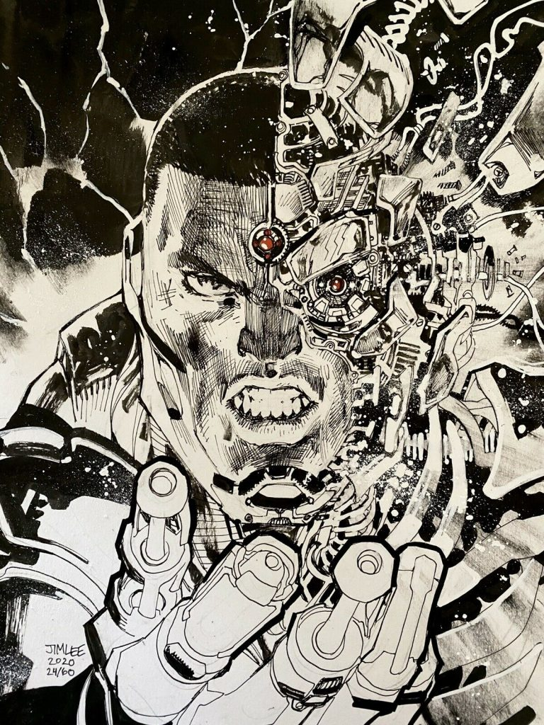 jim-lee-cyborg-original-art
