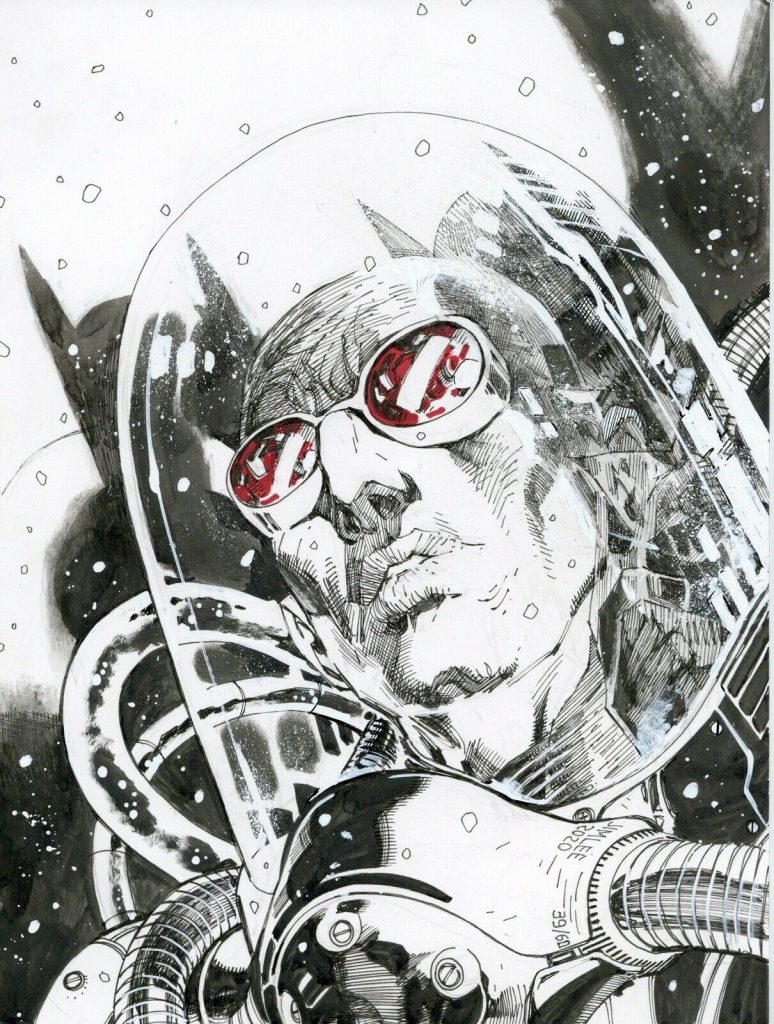 jim-lee-mr-freeze-original-art