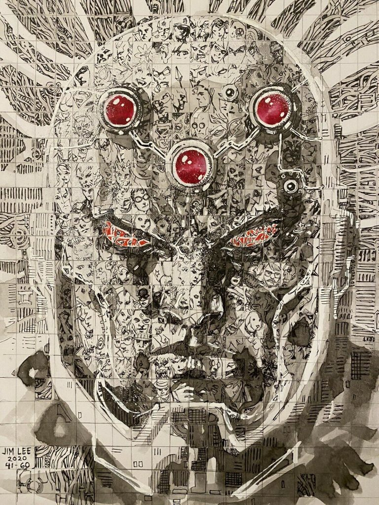 jim-lee-brainiac-original-art
