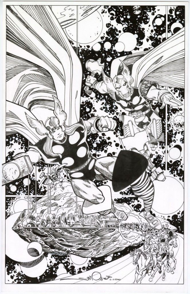 Walt Simonson Original Art – Charity Auctions and Commission List