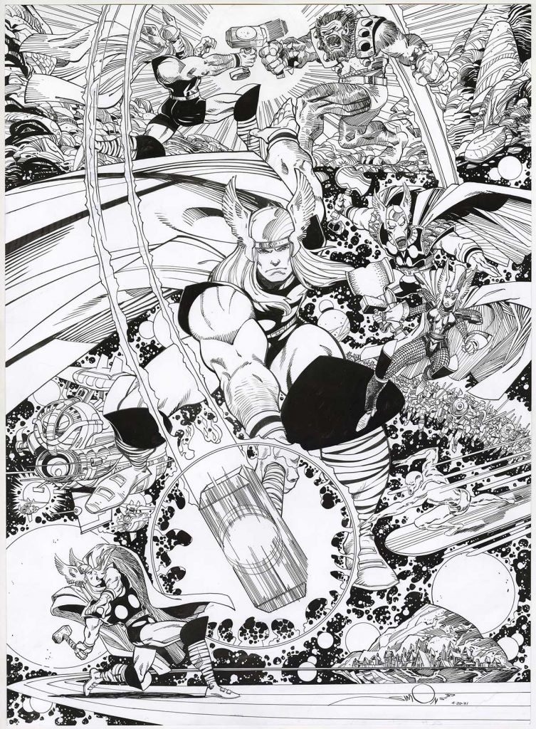 walt-simonson-thor-original-comic-art