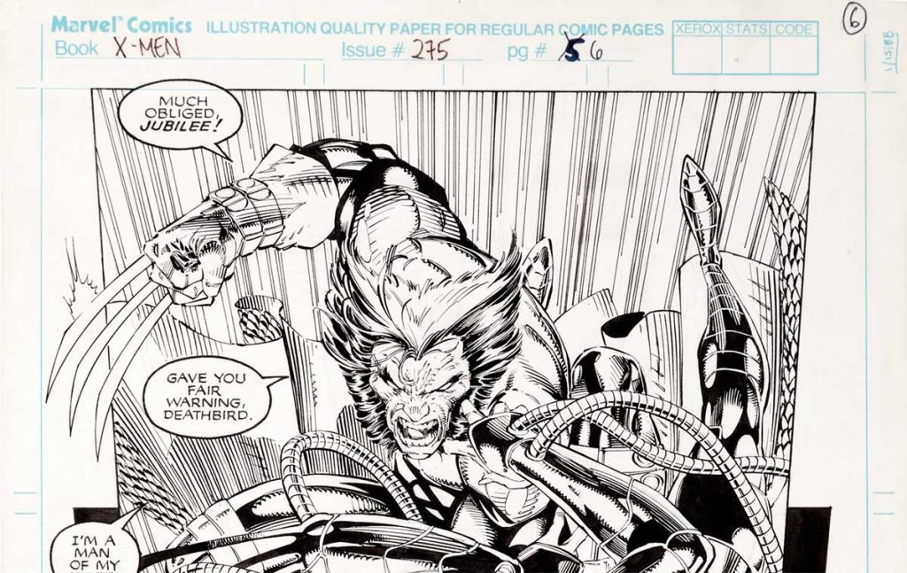 Jim Lee Uncanny X-Men Original Art – A Guide for Collectors