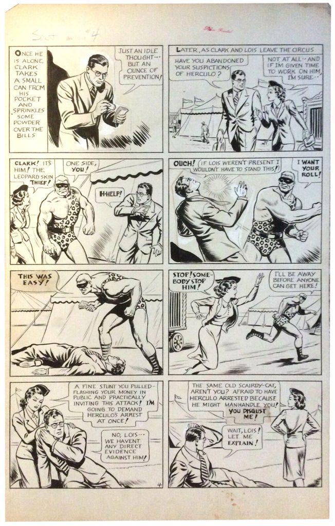 joe-shuster-original-superman-art